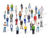 Group of Diverse Multiethnic People — Stock Photo