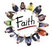 People and Faith Concept — Stock Photo