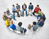 Diverse People Brainstorming — Stock Photo