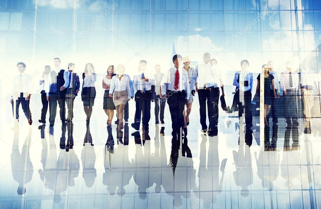 Business People Walking Forward — Stock Photo © Rawpixel ...