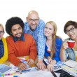 Diverse People and Togetherness Concept — Stock Photo #52460505