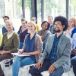Group of People in Seminar — Stock Photo #52460799