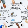Business People and Creativity Concept — Stock Photo #52462249