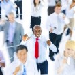 Large Group of Business People Communication — Stock Photo #52462789