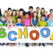 Group of Children with Back to School Concept — Stock Photo #52462989