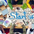 People Working with Startup — Stock Photo #52463953