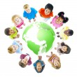 Green World for Kids — Stock Photo #52464295