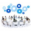 Business People at the Meeting — Stock Photo #52464701