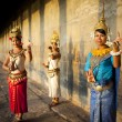 Cambodian dancers in traditional costume — Foto de Stock   #52464765