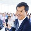Asian Business man as a leader — Stock Photo #52466377