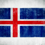 National Flag Of Iceland — Stock Photo #52466915