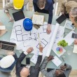 Architects and Engineers Planning — Stock Photo #52468239