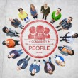 People and Community Concept — Stock Photo #52469659