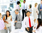 Business People Meeting in Office — Foto de Stock