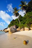 Malaysian beach — Stock Photo
