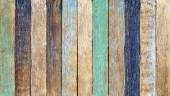 Colorful Wooden Plank — Stock Photo