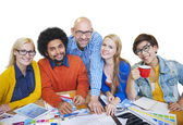 Diverse People and Togetherness Concept — Stock Photo