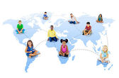 Youth Global Network — Stock Photo