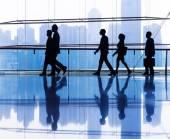 Gruppe von geschäftsleuten im büro — Stockfoto