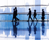 Group of business people in office — Stock Photo
