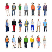Group of Multiethnic Diverse People — Stock Photo