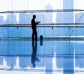Kaufmann im büro — Stockfoto