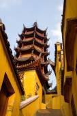 Jinshan tempel — Stockfoto