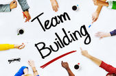 People Discussing About Team Building — Stock Photo