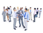 Large Group of Business People — Stock Photo
