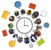 People with Time Concepts — Stock Photo