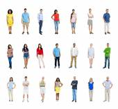 Multi Ethnic Diverse People — Stock Photo