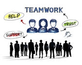 Business People and Teamwork Concepts — Стоковое фото