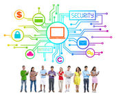 People and Security Concepts — Stock Photo