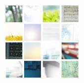 Set of Different Backgrounds — Stock Photo