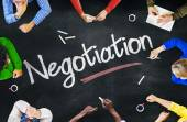 People Discussing About Negotiation — Stock fotografie