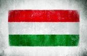 National Flag Of Hungary — Stock Photo