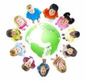 Green World for Kids — Stock Photo
