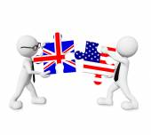 England - USA relationship — Stockfoto