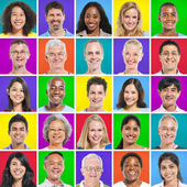 Multi Ethnic people — Stock Photo