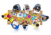 Multiethnic Designers Meeting — Stock Photo