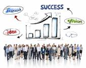 Business People and Success Concepts — Stock Photo