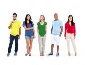 Multi-ethnic group of people — Stock Photo