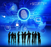 Business People and Security Concepts — Stock Photo