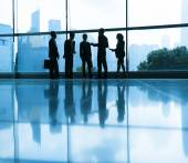 Group of business people meeting — Stock Photo