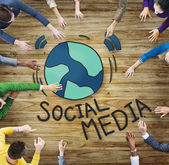 People and Social Media Concepts — Stock Photo