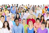Large group of ethnicity — Zdjęcie stockowe