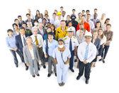 Group of Multi-career — Stock Photo