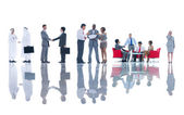 Group of Business Meeting — Stock Photo