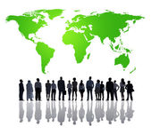 Global Business Team — Stock Photo