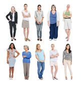 Multiethnic Diverse Independent Women — Stock Photo